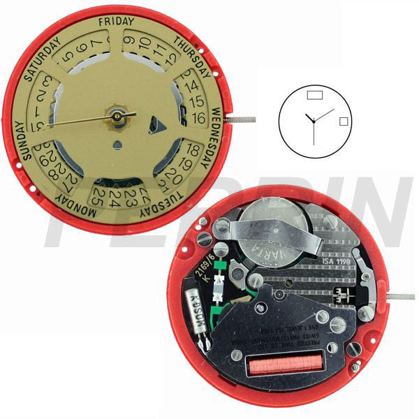 ISA 1198/105 Watch Movement (9346074308)