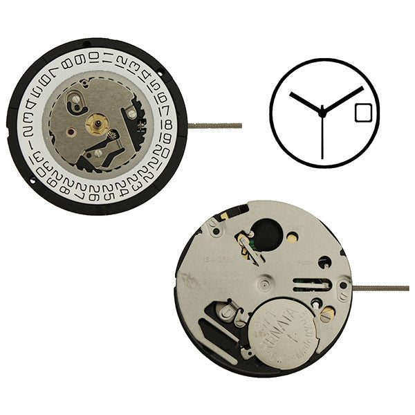 ISA 2330/103 Swiss Watch Movement