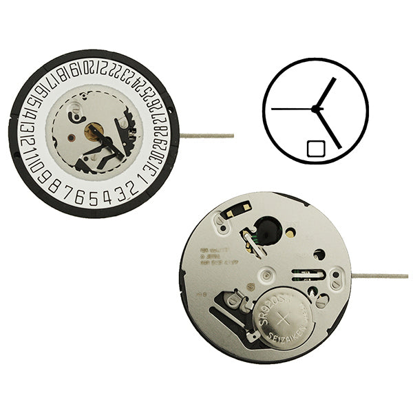 ISA 2331/103 Date 6 Swiss Watch Movement