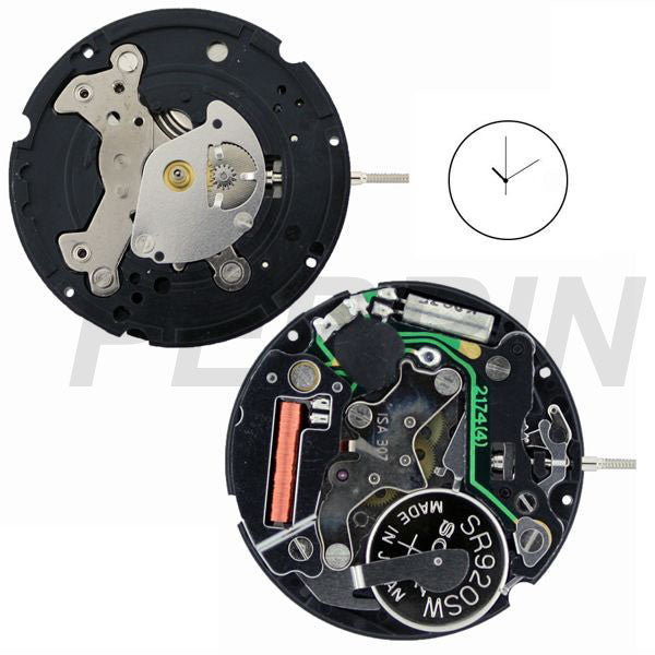 ISA 307/10 Watch Movement (9346080260)