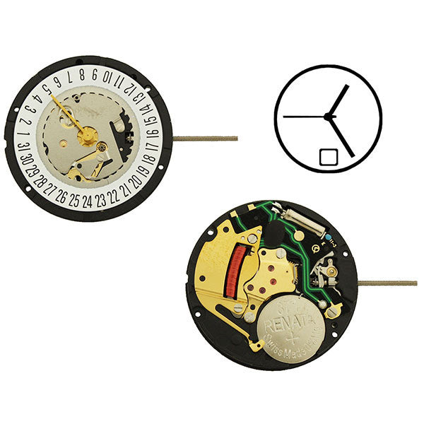 ISA 330/103 Date 6 Watch Movement (9346082180)