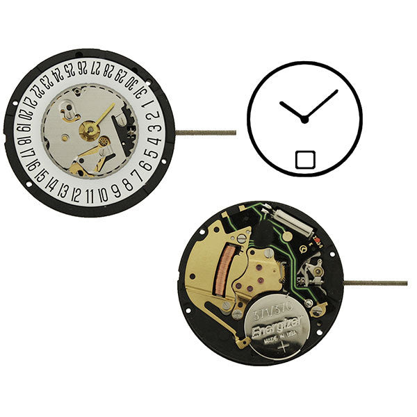 ISA 330/133 Date 6 Watch Movement
