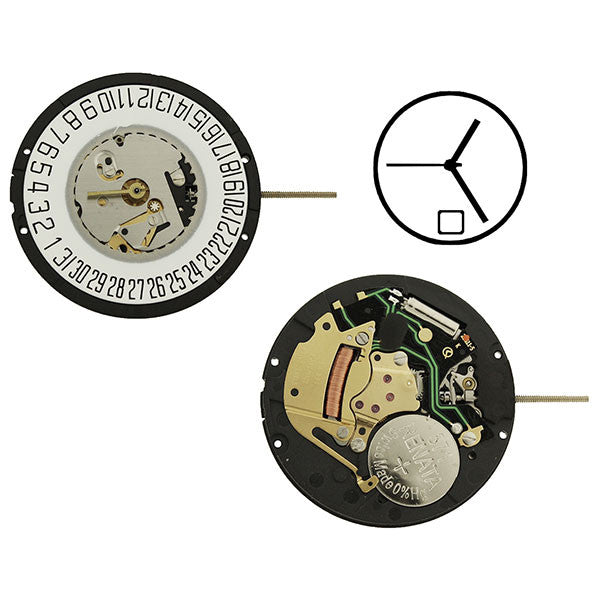 ISA 331/103 Date 6 Watch Movement