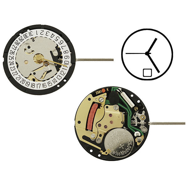 ISA 338/103 Date 6 Watch Movement