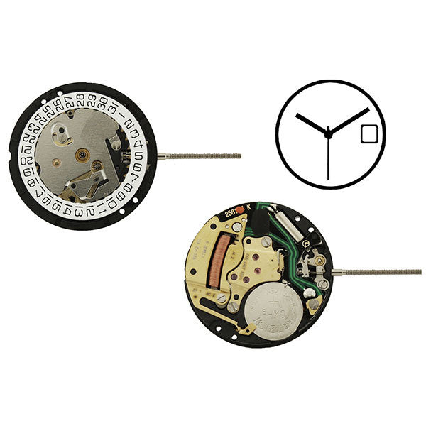 ISA 338/103 Watch Movement