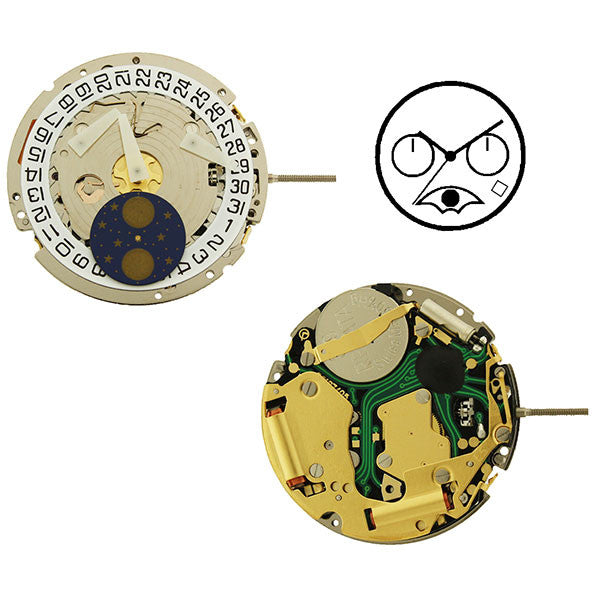 ISA 8171/204 Swiss Watch Movement (9346088196)