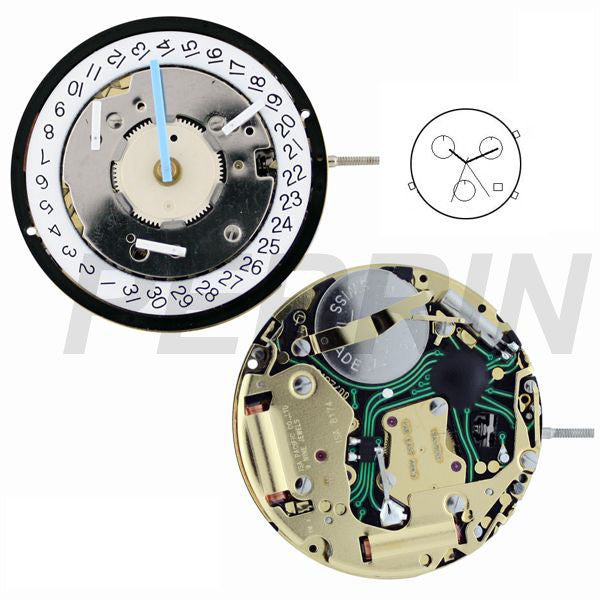 ISA 8174/220 Watch Movement (9346089668)