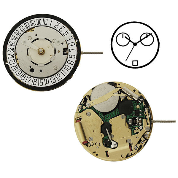 ISA 8175 Watch Movement