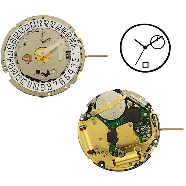 ISA 8176/2050 Swiss Watch Movement (9346090692)