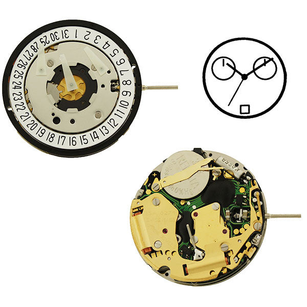 ISA 8271 Watch Movement (9346091012)