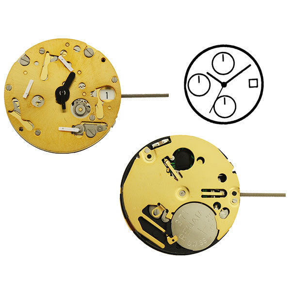 ISA 9232/1920 Watch Movement (9346093636)