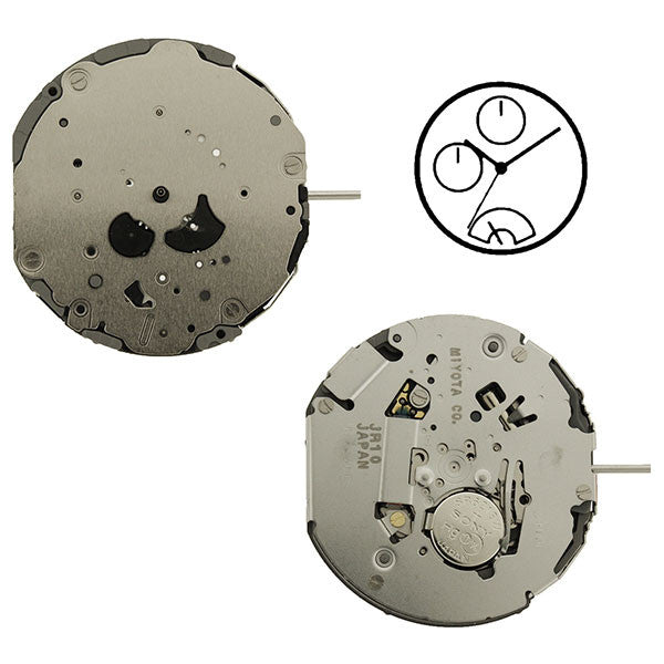 JR10 Miyota Watch Movement (9346095300)