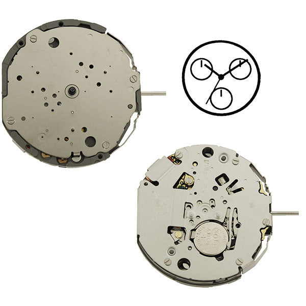 JS00 Miyota Watch Movement