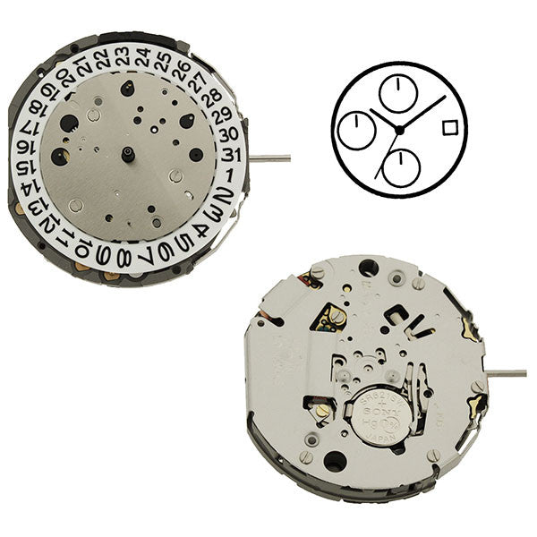JS16 Miyota Watch Movement