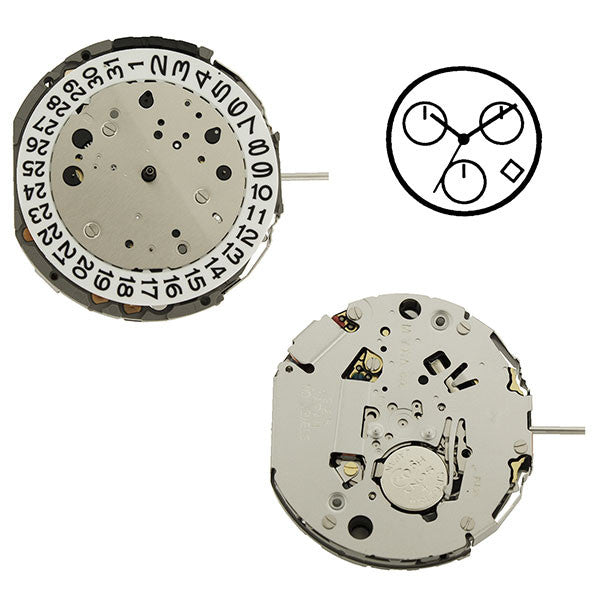 JS25 Miyota Watch Movement