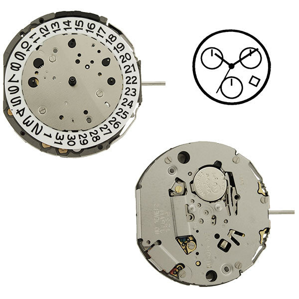 JS26 Miyota Watch Movement