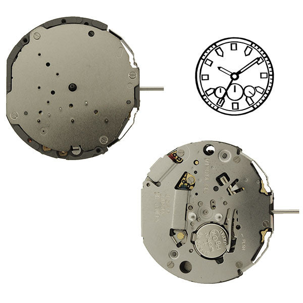 JS50 Miyota Watch Movement