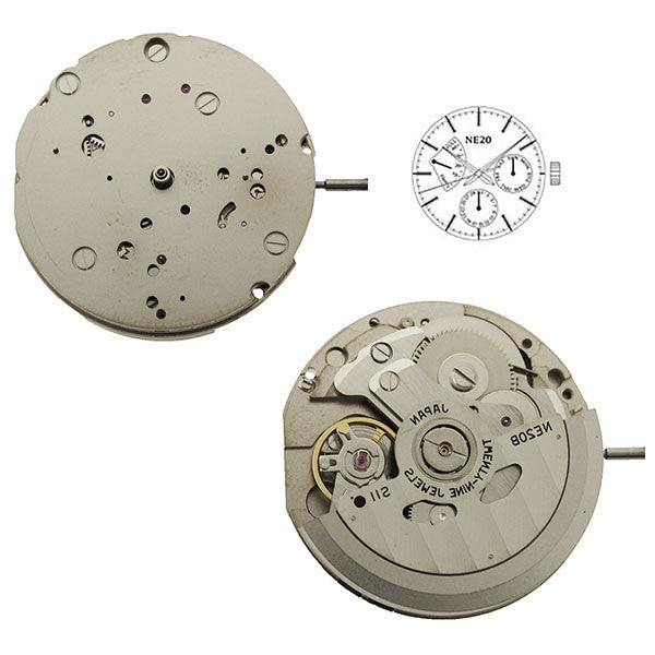 NE20 SII Automatic Watch Movement (9346098372)