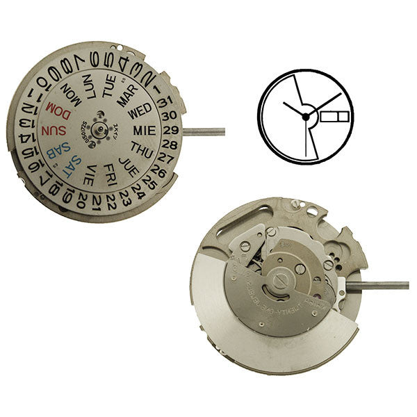 NH16 SII Automatic Watch Movement