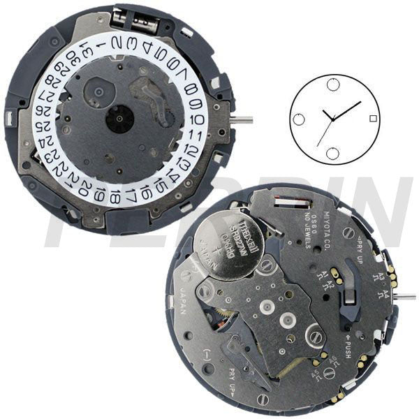0S60 Watch Movement