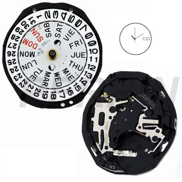 PC23 SII Quartz Watch Movement (9346101060)