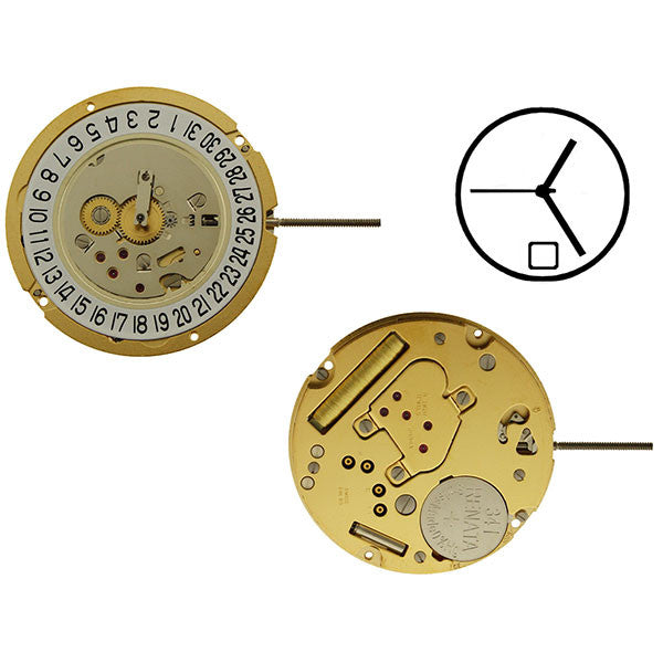 RL1005 Date 6 Watch Movement