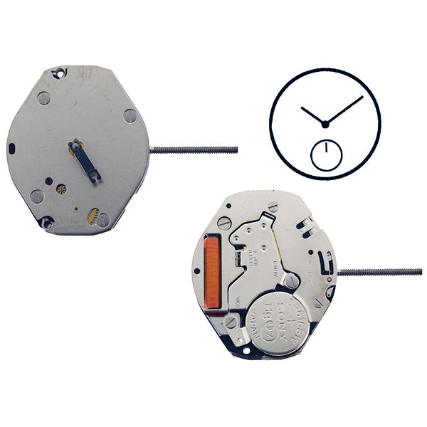 RL1069 Height 0 Watch Movement (9346110404)