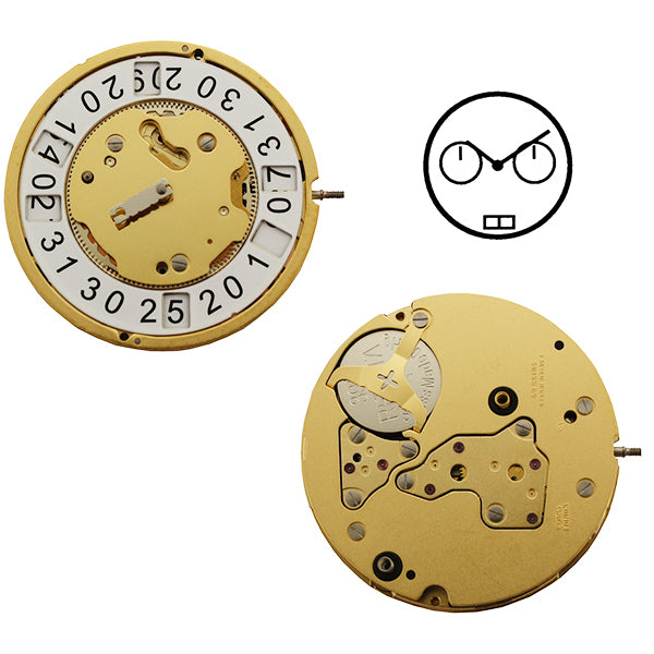 RL4120B Swiss Watch Movement