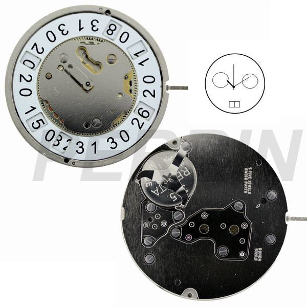 RL5020B Watch Movement