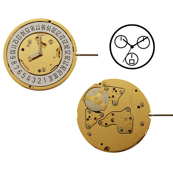 RL5040D Date 6 Watch Movement (9346116676)