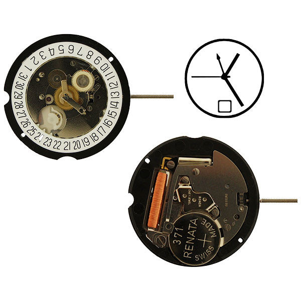 RL 505-24Hr. GMT date 6 Watch Movement