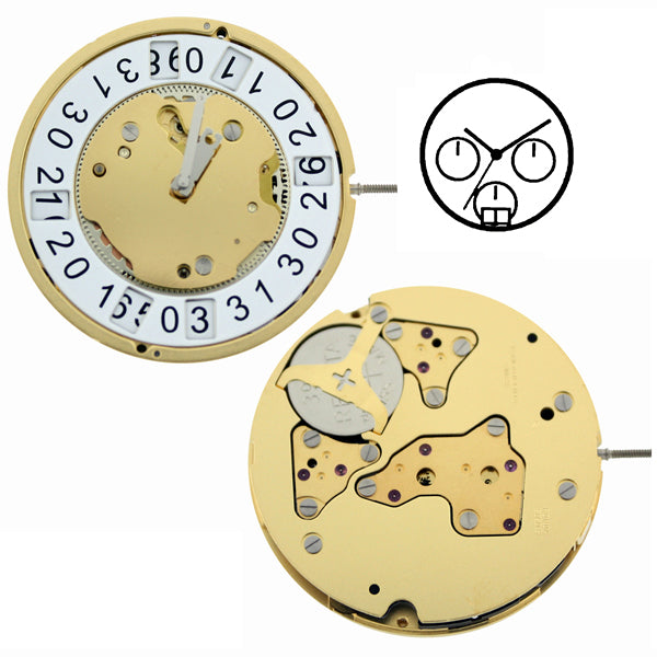 RL5050B Swiss Watch Movement (9346117892)