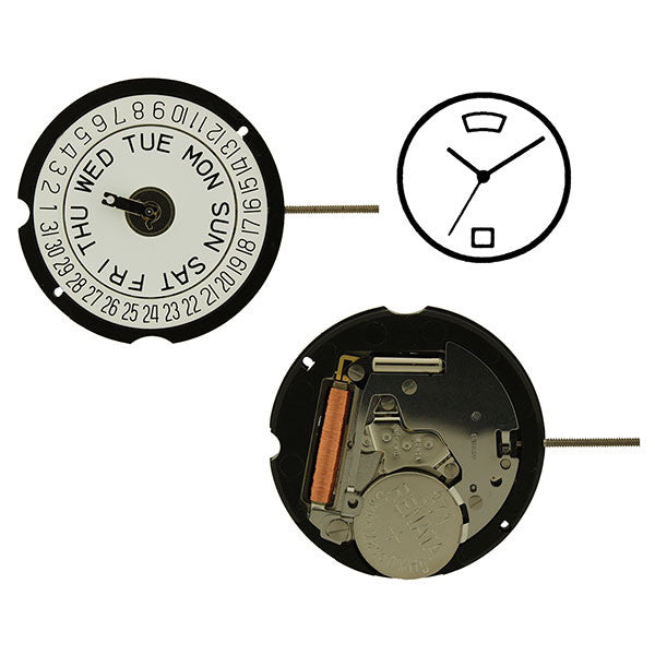 RL 507-D6 Watch Movement