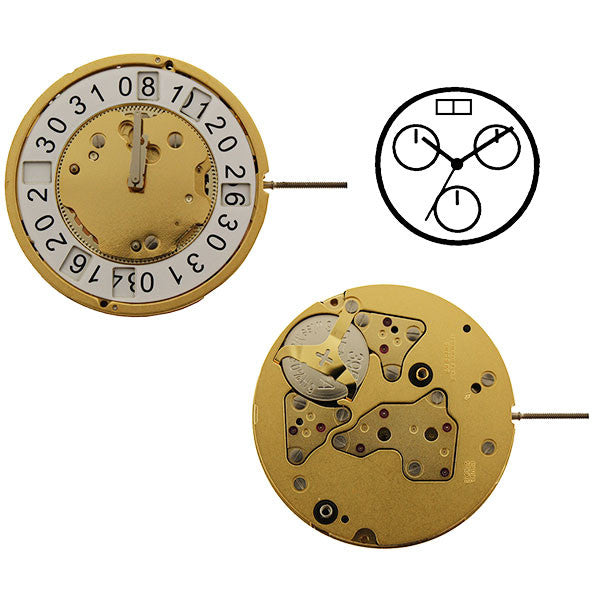 RL5130B Watch Movement