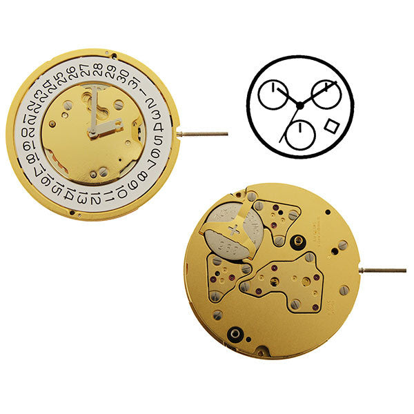 RL5130D Watch Movement