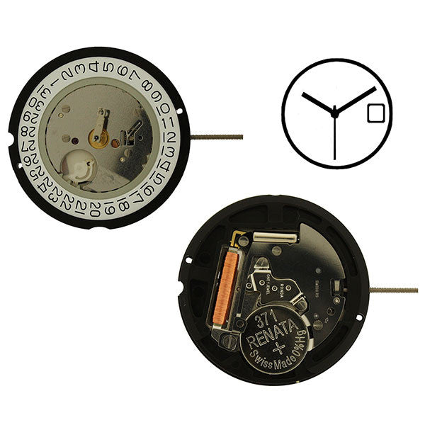 RL 515-3 Height 6 Watch Movement (9346123332)