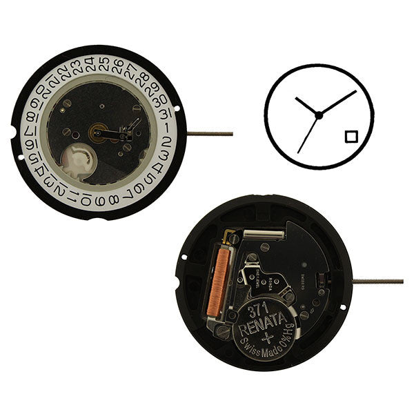 RL515 date 4 Watch Movement