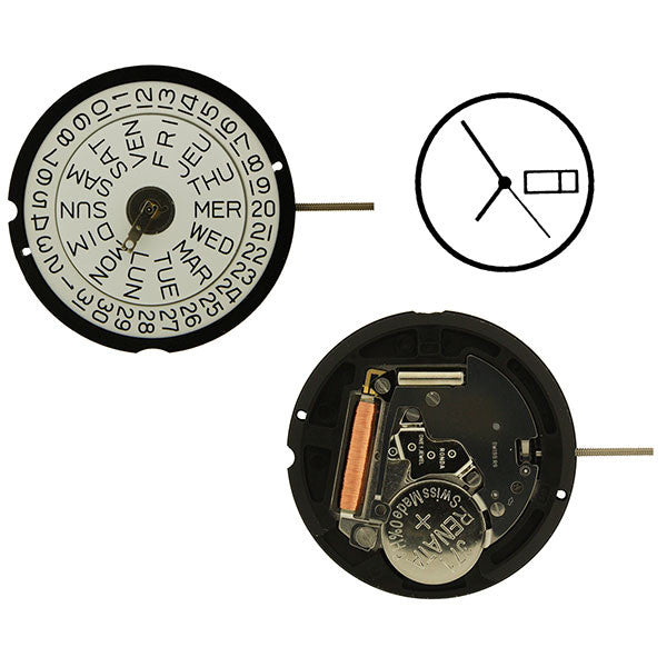 RL517 Height 2 Watch Movement (9346126020)