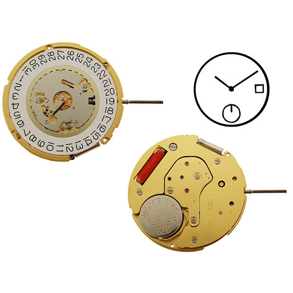 RL6004D Swiss Watch Movement