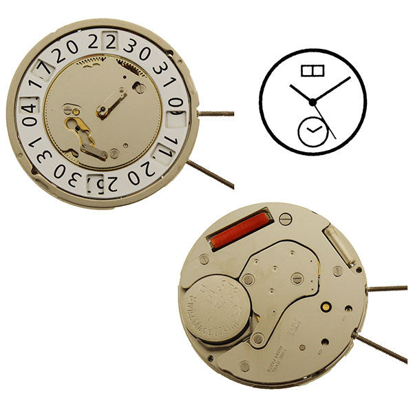 RL6203B Watch Movement (9346130884)