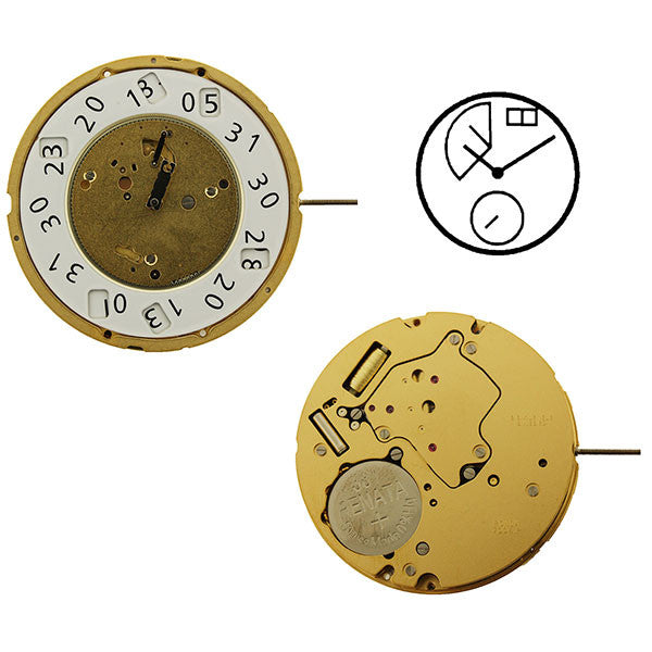 RL7004P Swiss Watch Movement
