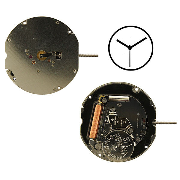 RL703 3 hands Watch Movement