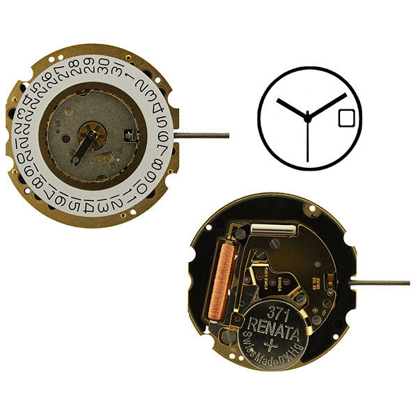 RL705-3 Swiss Height 4 Watch Movement (9346133892)