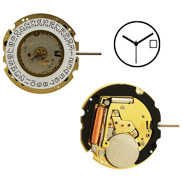 RL705-3 Swiss Height 5 Watch Movement (9346134020)