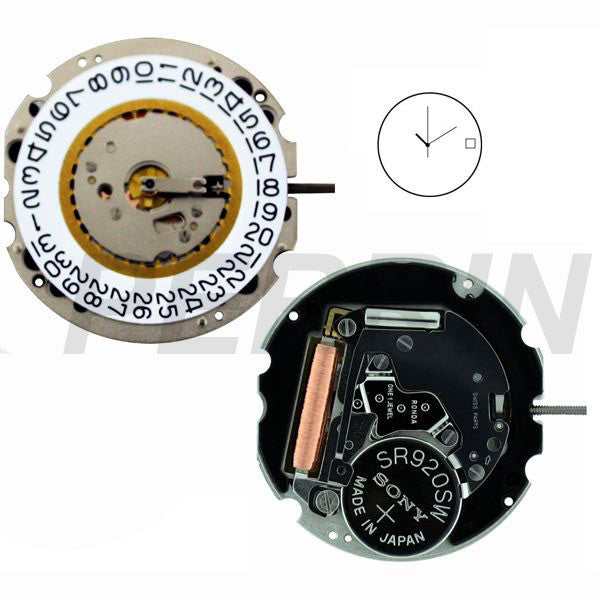 RL705-3 Swiss Height 2 Watch Movement (9346133316)