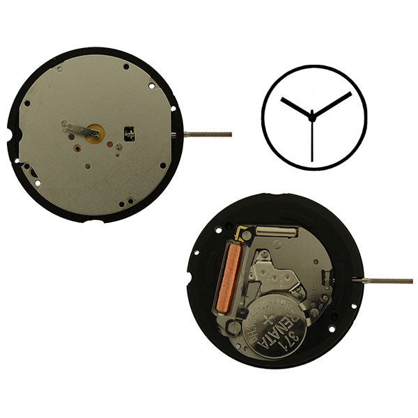 RL713 3 hands Watch Movement (9346136836)