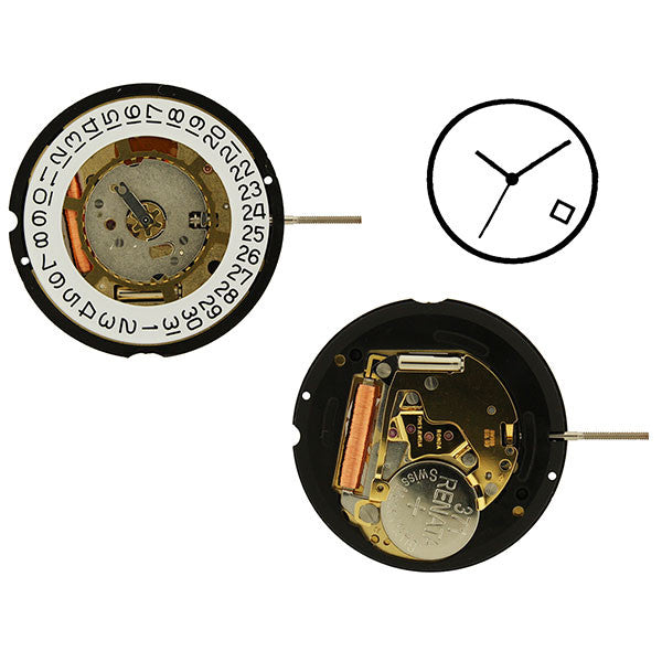 RL715 date 4 Watch Movement