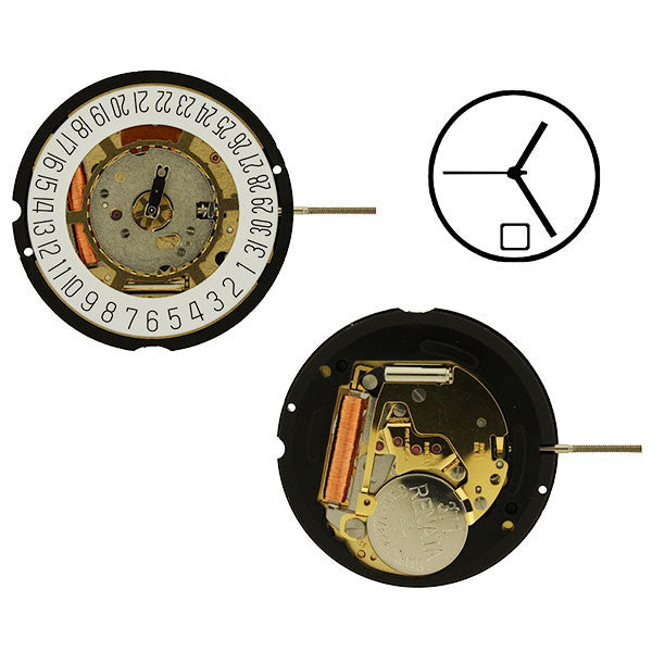 RL715-H2 date 6 Watch Movement