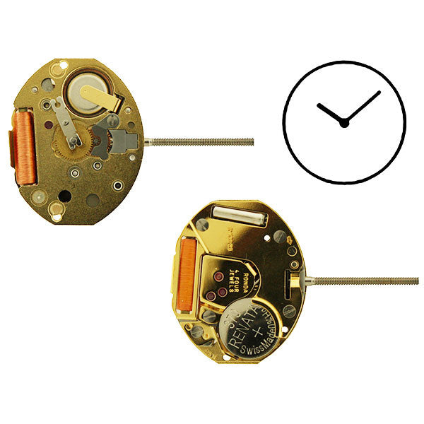 RL751E Height 0 Watch Movement