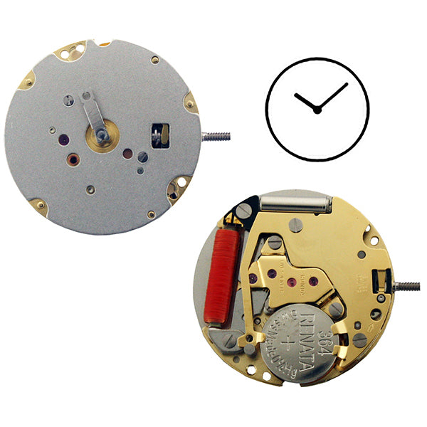 RL772 Height 3 Watch Movement